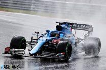 Fernando Alonso, Alpine, Istanbul Park, 2021