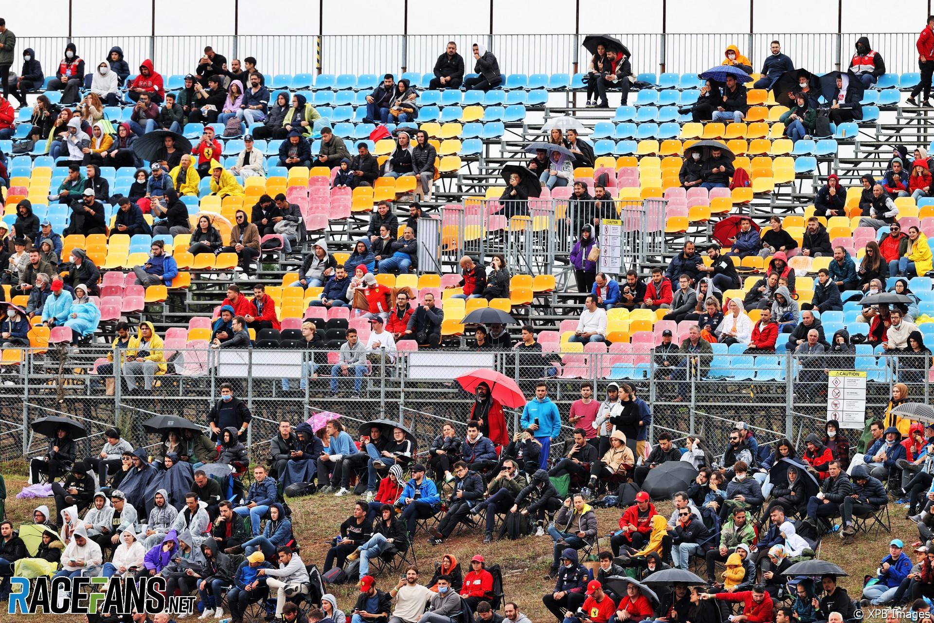Spectators, Istanbul Park, 2021