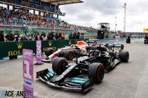 Hamilton fastest but Bottas takes pole for Turkish Grand Prix