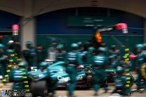"""Aston Martin """"had to try"""" switch to slick tyres – Vettel"""