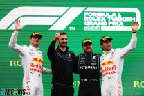 """Verstappen wary Mercedes have """"stepped it up"""" despite taking points lead"""