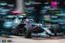 Sebastian Vettel, Aston Martin, Istanbul Park, 2021