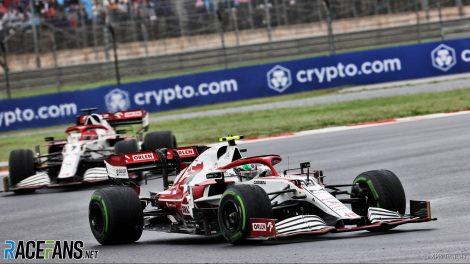 Antonio Giovinazzi, Alfa Romeo, Istanbul Park, 2021