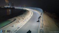 Jeddah Corniche Circuit construction work