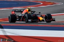Perez puts Red Bull on top in second practice