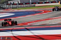 Carlos Sainz Jnr, Ferrari, Circuit of the Americas, 2021