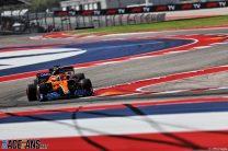 Lando Norris, McLaren, Circuit of the Americas, 2021