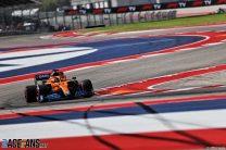 Daniel Ricciardo, McLaren, Circuit of the Americas, 2021