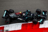 """Perez wary of """"very strong"""" Mercedes despite topping second practice"""