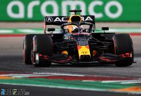 Verstappen sees off Hamilton and Perez for pole in Austin