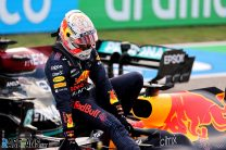 Hamilton and Verstappen say they'll keep it clean at start after practice run-in