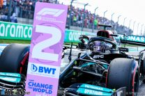 Hamilton's advantageous grid spot may be his only hope in Verstappen fight