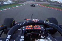 Verstappen gives Hamilton the finger over practice run-in